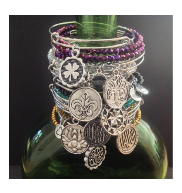 Bracelets on bottle  4
