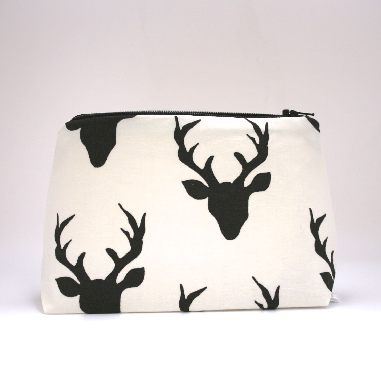 Woodland deer silhouette makeup bag   le pique nique by jordani sarreal 01