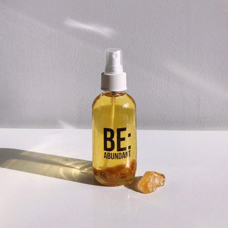 Be abundant body oil