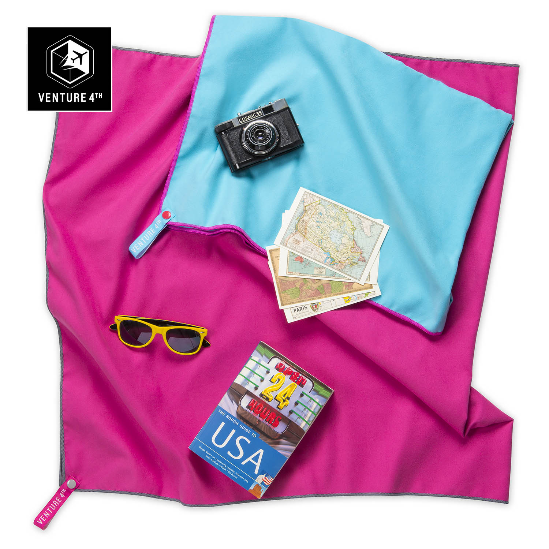 Pink v4th towel