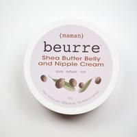 Medium nipple   belly cream shea