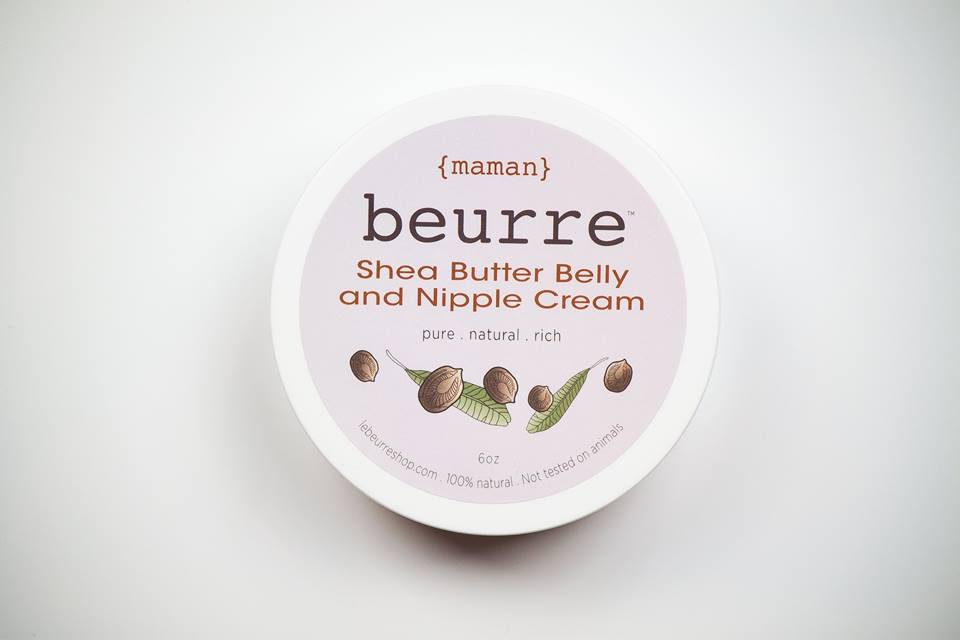 Nipple   belly cream shea