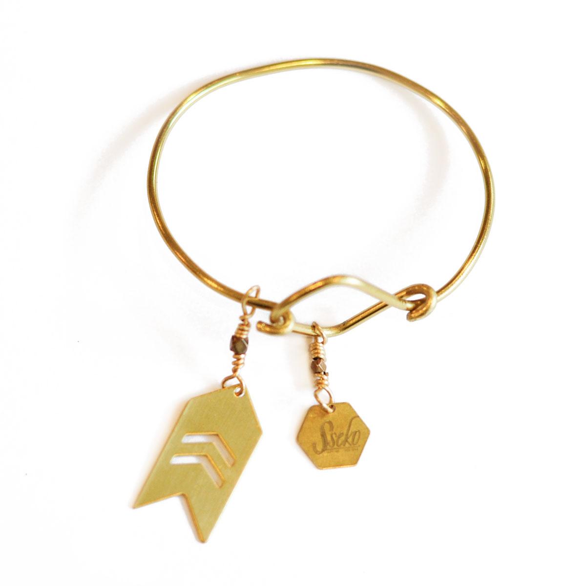 Bravery piece bracelet