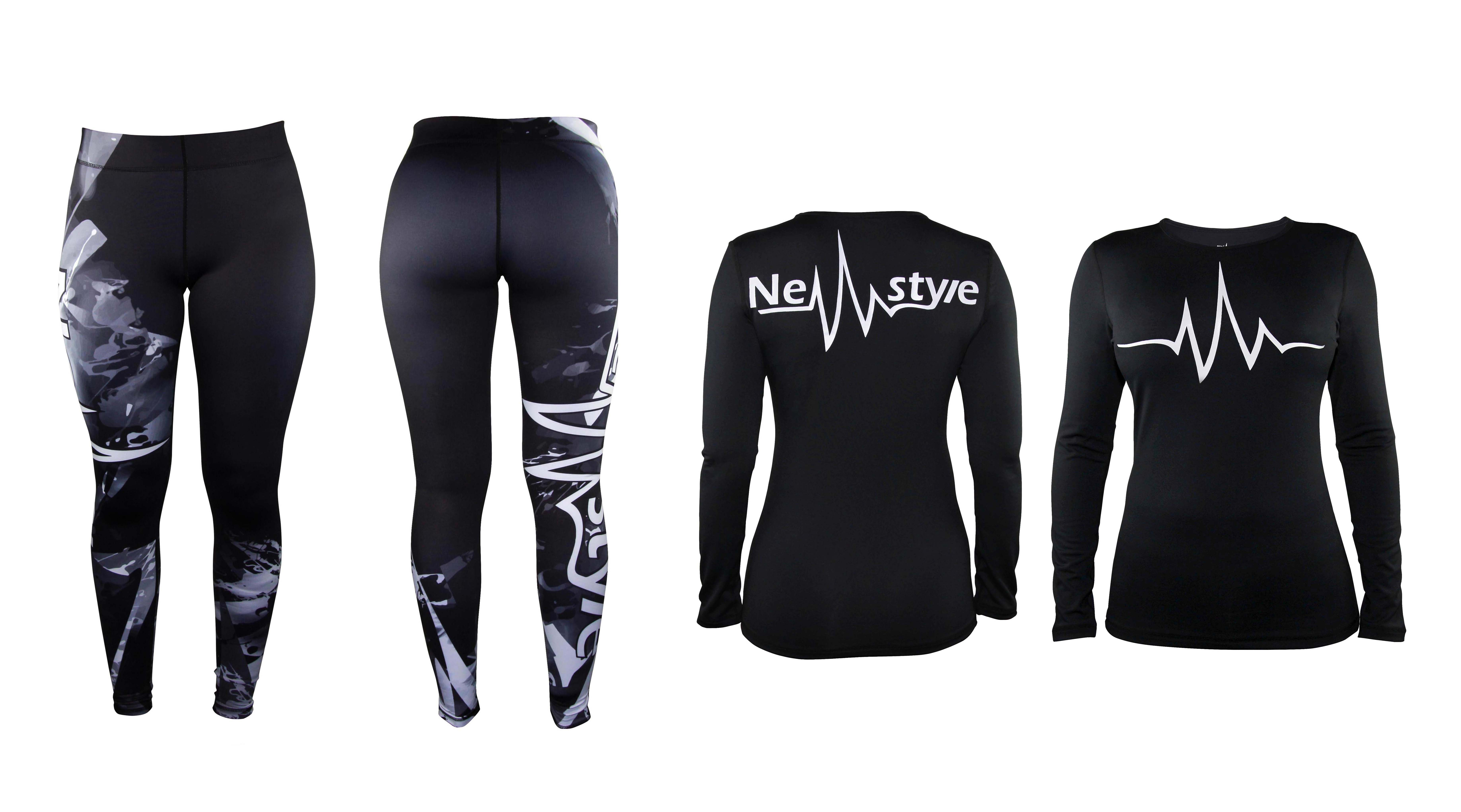 Commercial picture newstyle sportswear workout clothes
