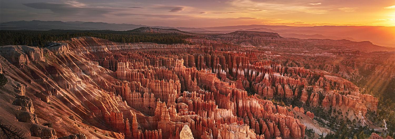Hero bryce canyon at dawn